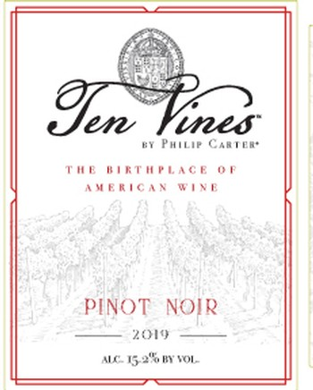 2019 Ten Vines Pinot Noir
