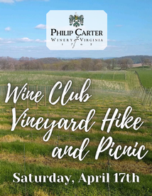Wine Club Vineyard Hike & Picnic Ticket