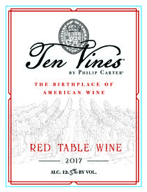 2017 Ten Vines Red